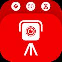 Speed camera detector: radar detector, directions icon