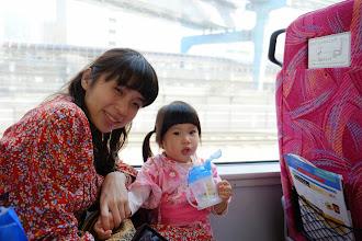 Photo: Taking trains to Izu 搭車前往伊豆半島