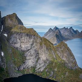 Lofoten mountains by Terje Jorgensen - Landscapes Mountains & Hills