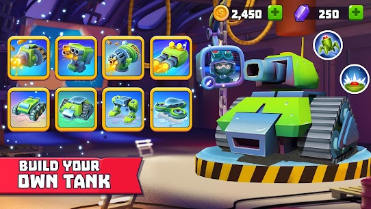 Tanks A Lot Mod Apk 2.80 (Menu Mod + Unlimited Ammo) 2