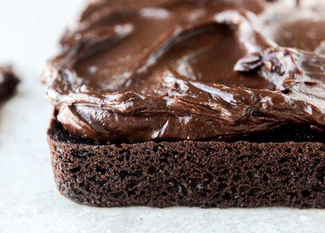 double chocolate whiskey cake with whiskey ganache