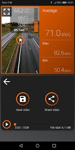 SPL CAM – decibel meter with video recorder App Latest Version  Download For Android 4