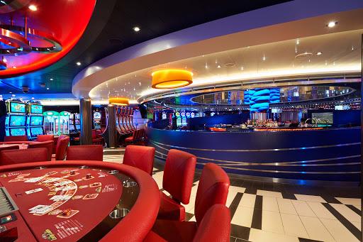 carnival-vista-Casino.jpg - Try your luck in the Casino aboard Carnival Vista.