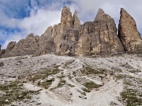 Photo: Tre Cime from behind