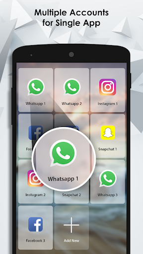 Dual Apps (Parallel Apps) : Multiple account 2.1 screenshots 1