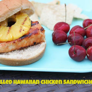 Grilled Hawaiian Chicken Sandwiches