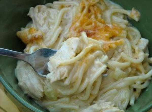 Easy Cheesy Chicken Spaghetti Recipe