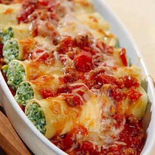 Broccoli-Frischkäse-Cannelloni