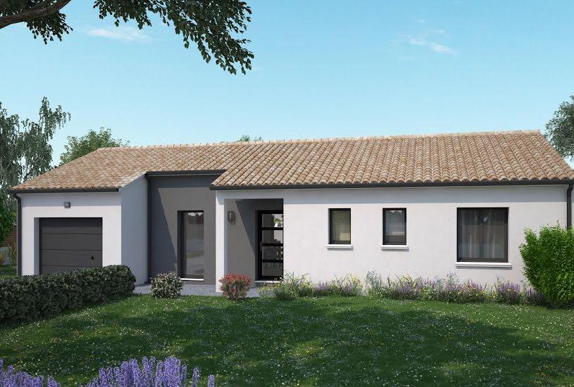 Vente Terrain + Maison - Terrain : 658m² - Maison : 87m² à Le Pin-en-Mauges (49110)
