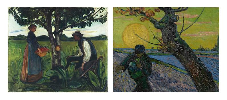 Van Gogh Inspires Edvard Munch Van Gogh Museum