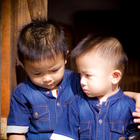 Bro by Rizal Pungus - Babies & Children Child Portraits