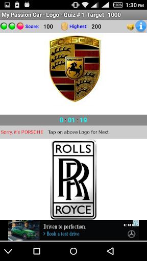 My Passion Car- Logo Quiz Game 2.7 screenshots 2