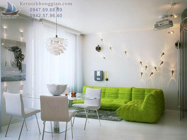 thiết kế nội thất nhà diện tích nhỏ