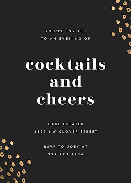 Cocktails & Cheers - New Year's item