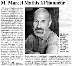 Photo: 15-09-96 Marcel Mathis médaillé d'argent du C.R.O.S.L.