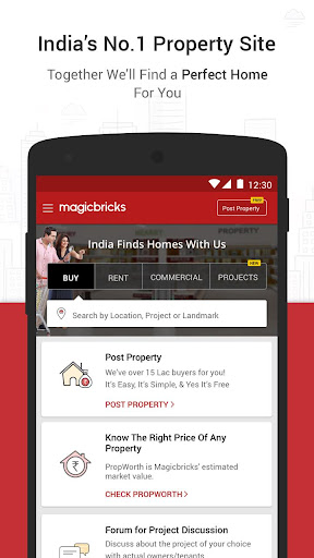 Magicbricks Property Search & Real Estate App  screenshots 1