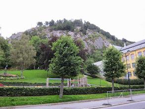 Photo: The town park