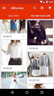 AliExpress Shopping App Screenshot 2