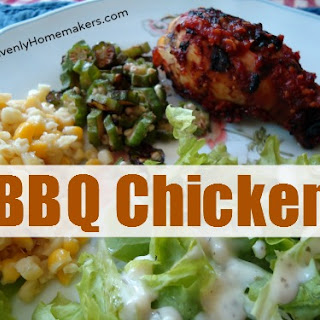 Grilled Barbeque Chicken