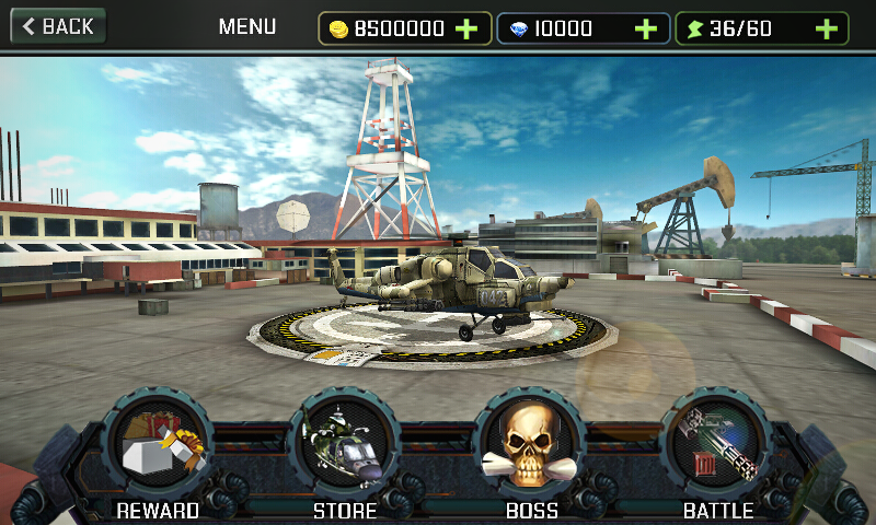 Gunship Strike 3D- screenshot