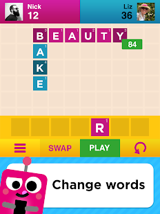Two Words - 2 player word game- screenshot thumbnail