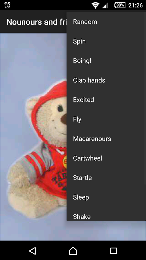 Nounours and friends- screenshot