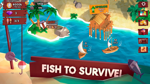 Code Triche Idle Tropic Empire - Survival Tycoon apk mod screenshots 1