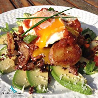 Mexican Breakfast Haystacks