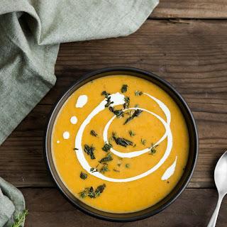Celeriac Soup with Thyme