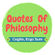 Quotes Of Philosophy (Quiz) for PC-Windows 7,8,10 and Mac