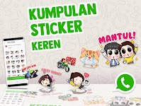 screenshot of Kumpulan Sticker Keren (WAStickerApps)