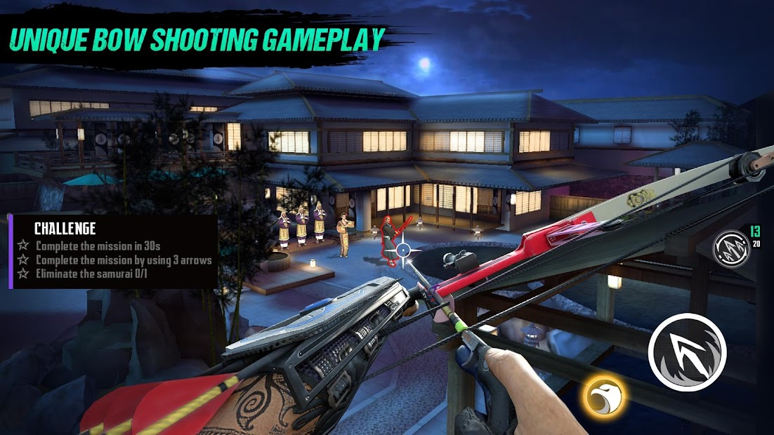 Ninja's Creed: 3D Sniper Shooting Assassin Game Android App Screenshot