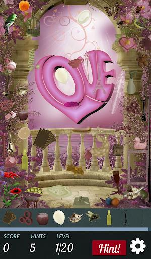 Hidden Object - Love XOXO