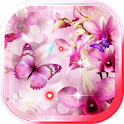 Orchide Pink live wallpaper icon