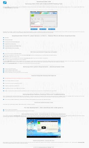 OdinDownloadHelper for Samsung 3.17 screenshots 1