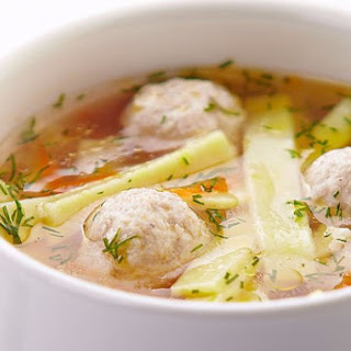 Soup With Meatballs Potato Recipes