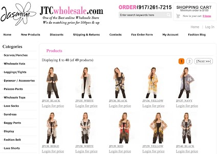 Wholesale Scarves For Women screenshot 6