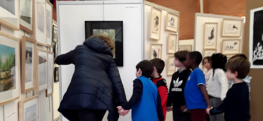 salon de l'aquarelle centre d'art camille varlet fontainebleau moret veneux les sablons seine et marne Jeanne PAPA