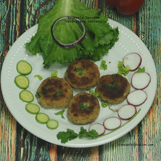 Brussel Sprouts Hara Bhara Cutlets