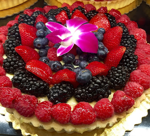 Blackberry And Rasberry Dessert Tart by Lope Piamonte Jr - Food & Drink Candy & Dessert