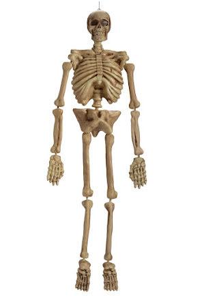 Prop, Hängande skelett