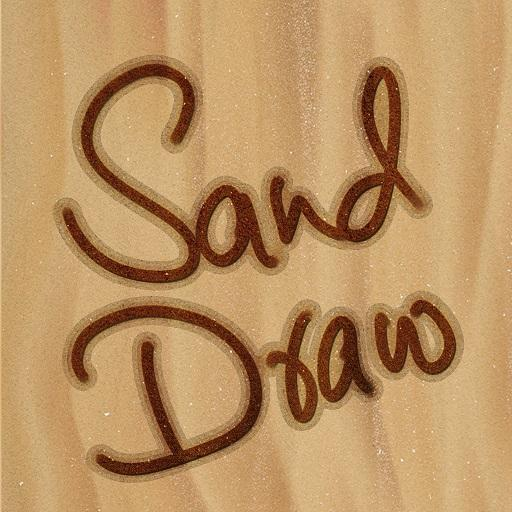 Sand Draw Sketch Pad - Creative Name Doodle Art Icon