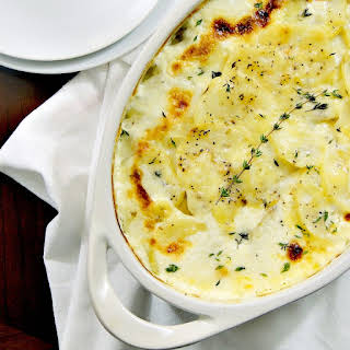 Julia Child's Gratin Dauphinois (Au Gratin Potatoes).