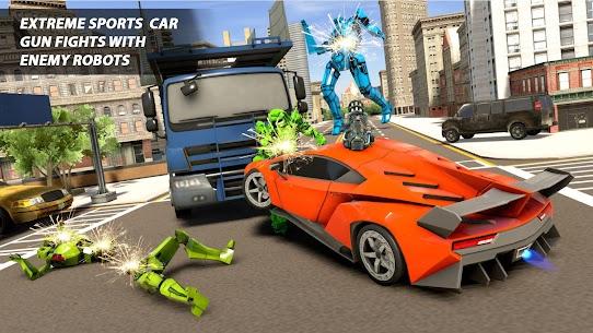 Real Robot Car Transform War : Mega Robot Games 3