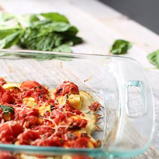 Zucchini Ravioli.