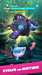 Mod Game Hungry Shark Heroes for Android