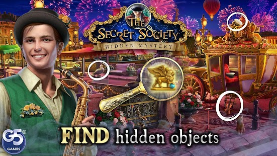 The Secret Society - Hidden Mystery Screenshot
