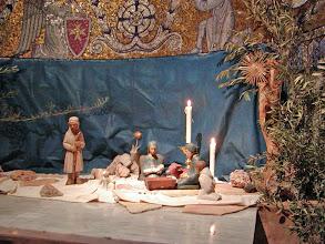 Photo: Christmas creche at the church