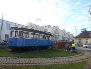 Photo: the new location for the gold + silver show? the tram + MVG museum, munich ~ http://jarogruber.blogspot.de/2015/11/edelmetalmesse.html