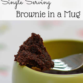 Brownie in a Mug.